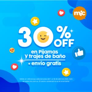 Mic 30% Off